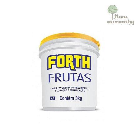 ADUBO FORTH FRUTAS BALDE 3 KG