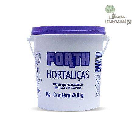 ADUBO FORTH HORTALICAS BALDE 400 GR