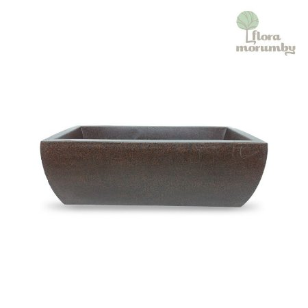 JARDINEIRA VIENA 100X17X14 CHOCOLATE
