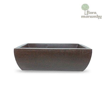 JARDINEIRA VIENA 60X17X14 CHOCOLATE