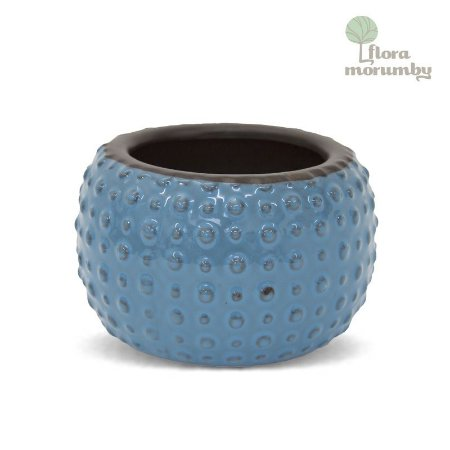 VASO CR BUBBLE 10X17D AZUL CLARO