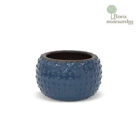 VASO CR BUBBLE 13X21D AZUL ESCURO