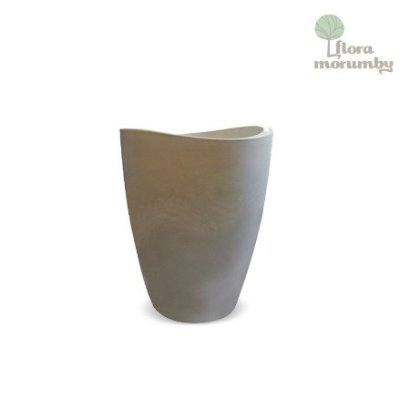 VASO COPACABANA ALTO 40X54CM ANTIQUE BRANCO