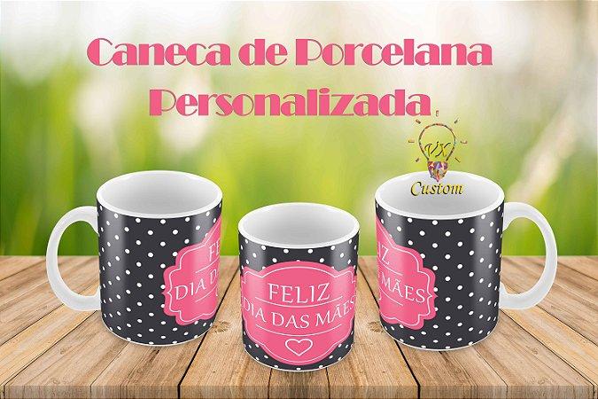 Presente Criativo Caneca de Porcelana Feliz dia das Mães