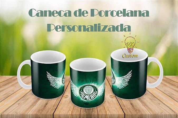 Palmeiras Caneca de Porcelana Personalizada
