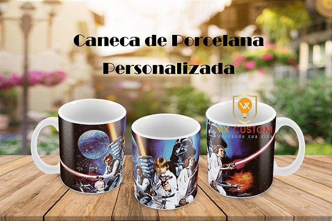 Caneca Star Wars de Porcelana