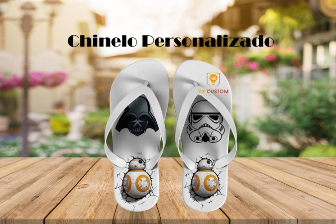 Star Wars Chinelo Personalizado