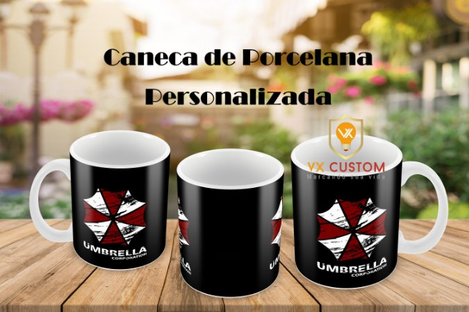 Caneca Personalizada Umbrella Corporation