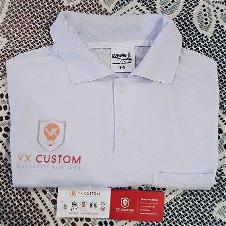 Camiseta Polo Sublimada Personalizamos com o seu Logotipo