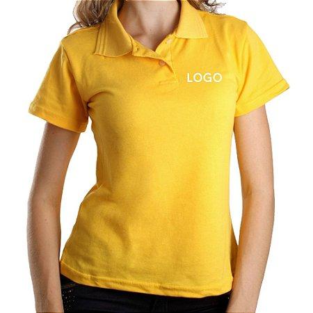Camiseta Polo Piquet Bordado - São Paulo