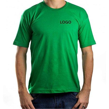 Camiseta 100% Algodão Fio 30.1 penteado Uniformes Empresariais