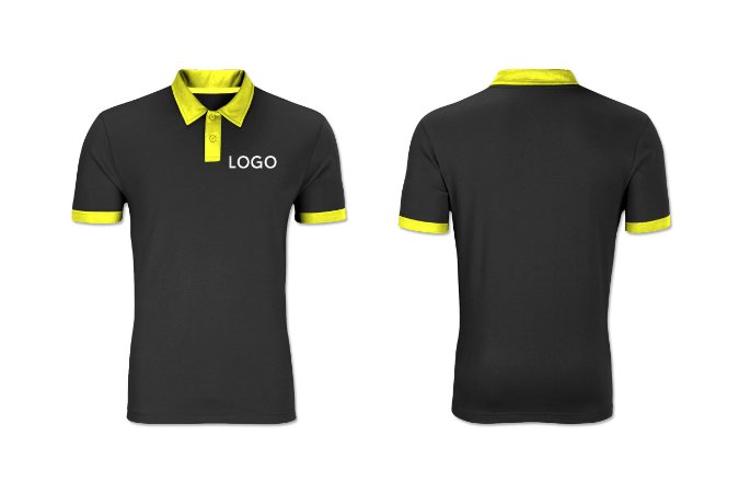 Camiseta Polo Piquet Bordada Mauá