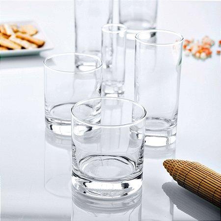 Copo Vodka Aiala 60 ml - Vidro Temperado - Caixa com 12 peças - Vicrila