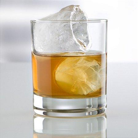 Copo para Whisky Aiala 300 ml - Vidro Temperado - Caixa com 6 peças - Vicrila