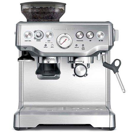 Cafeteira Elétrica Tramontina by Breville Express Pro em Aço Inox com Moedor 2 L - 220 V