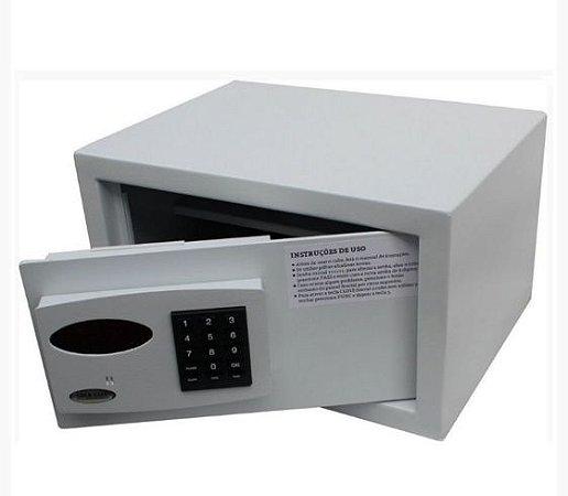 Cofre Eletrônico Com Luz Interna e Cadastro de Múltiplos Usuários Mod. Office Top