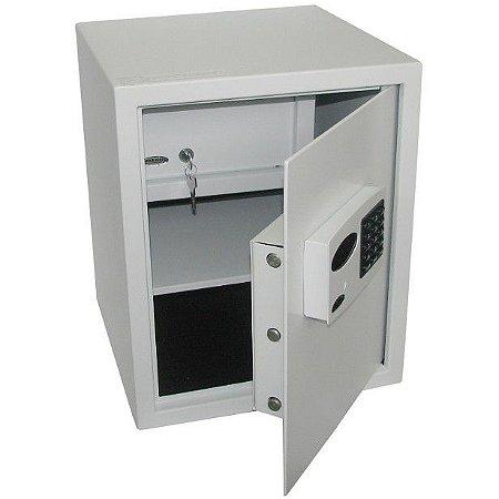 Cofre Eletrônico c/ Auditoria, Multiplos Usuários mod. Company Plus 1 Gold Safe