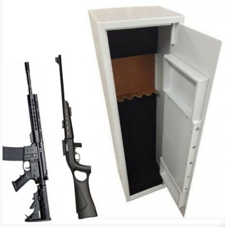 Cofre Eletrônico para Armas e Munições  Com Aprovação do Exército Mod. Safe Gun 1.45