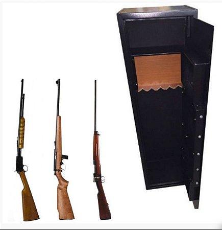 Cofre Eletrônico para Armas longas  e Munições Mod. Safe Gun 1.45 Black