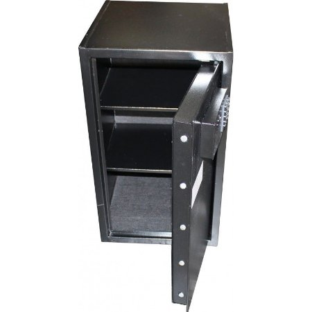 Cofre Eletrônico Seven Black com Display Digital - Cofres Gold Safe