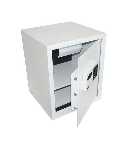 Cofre Eletrônico Digital Com Boca de Lobo e 50cm de Altura Mod. Company BL