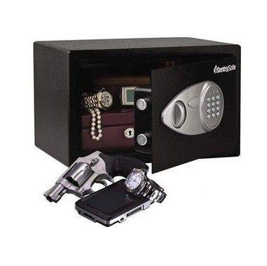Cofre Eletrônico p/ Dinheiro e Objetos SentrySafe X055