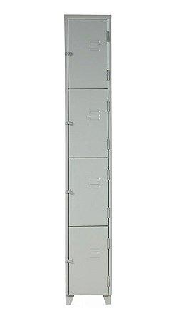 Roupeiro 04 portas pequenas # 26 c/ pitão 1980X300X400