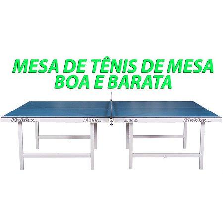 Mesa de ping pong lazer 15MM tampos de mdp e pés de madeira dobráveis