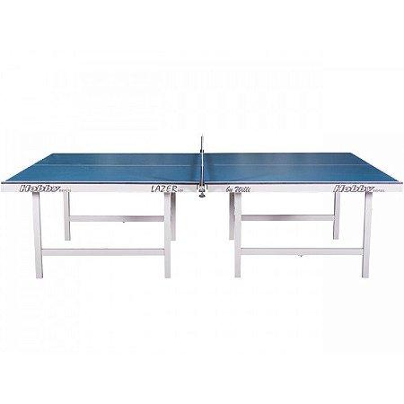 Mesa de ping pong lazer 15MM tampos de mdf e pés de madeira dobráveis