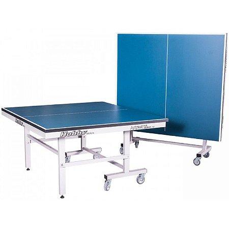 Mesa de ping pong automat 30MM tampos de mdf e pés de ferro com 8 rodas