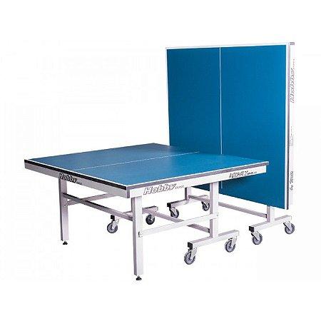 Mesa de ping pong automat 25MM tampos de mdf e pés de ferro com 8 rodas