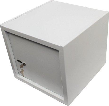 Cofre Mecânico Com Chave e Prateleira de Organização Mod. Empresarium