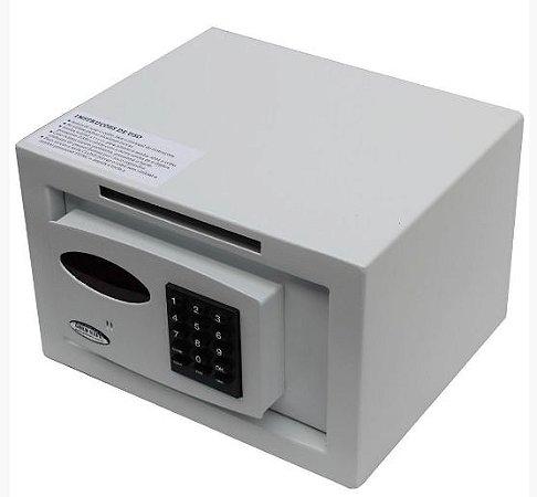 Cofre Pequeno Digital Com Boca de Lobo e Sistema de Retardo na Abertura Mod.Personal