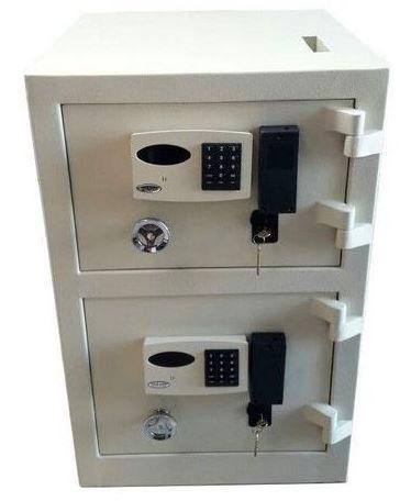 Cofre Eletrônico Duas Portas  Com Boca de Lobo
