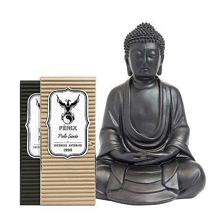 Kit Buda Fosco + 2 Incensos