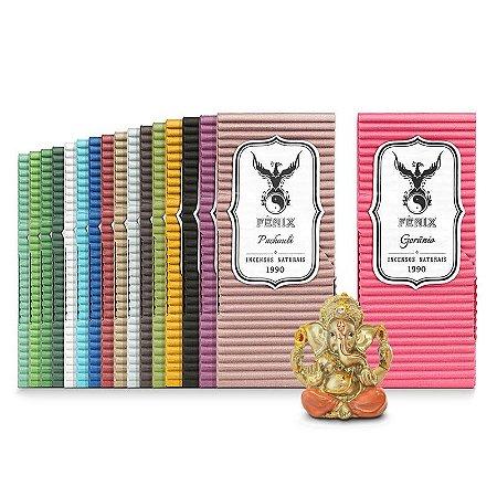 Kit Todos os Aromas c/ 17 caixas + Ganeshinha