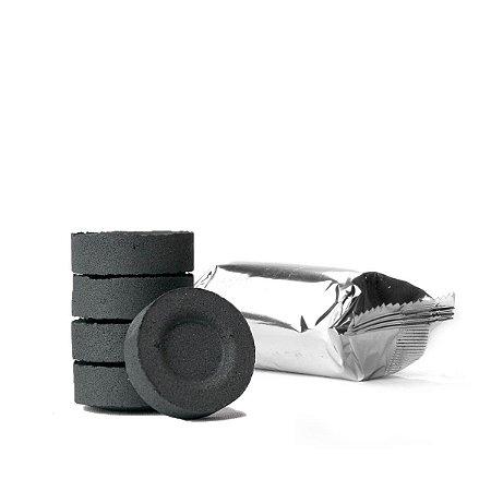 Carvão p/ Incenso In Natura - 5 unidades