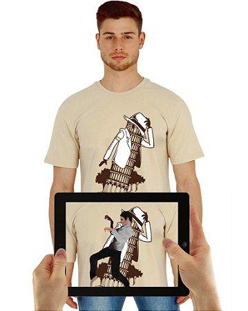 Camiseta Michael com Realidade Aumentada