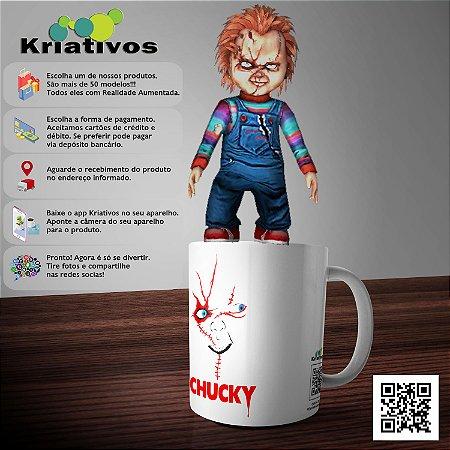 Caneca Chucky com Realidade Aumentada