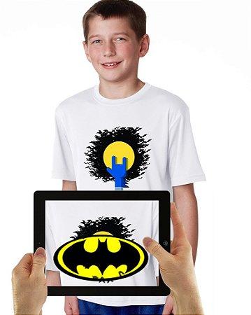 Camiseta BATMAN KIDS com Realidade Aumentada
