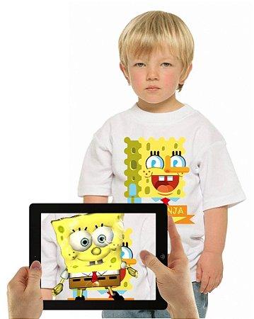 Camiseta BOB ESPONJA com Realidade Aumentada
