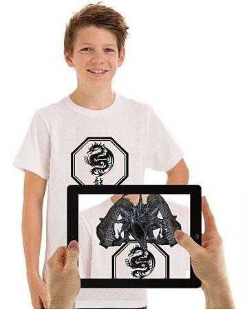 Camiseta Dragãocom Realidade Aumentada