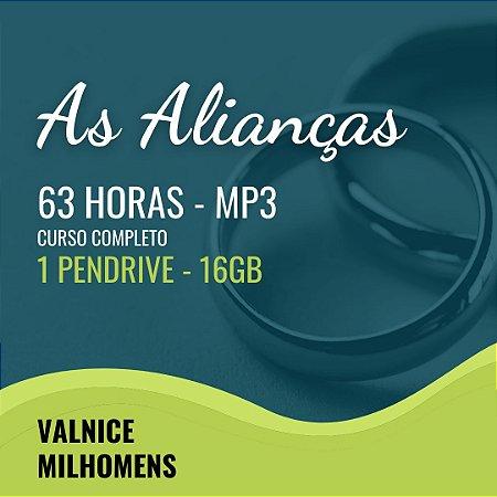 CURSAS ALIANÇAS - Valnice Milhomens. Pendrive - Áudio, MP3