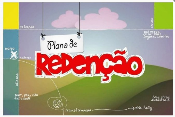 KIT PLANO DE REDENÇÃO PARA CRIANÇAS - O4 LIVROS PARA IDADES ESPECÍFICAS