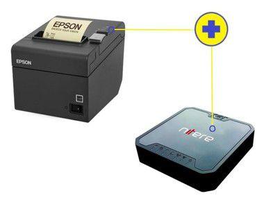 Kit SAT Nitere NSAT-4200 + Impressora de Cupom Epson TM-T20 USB