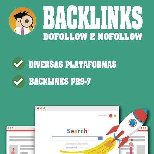 40 Backlinks PR9-7 + 20 .edu/.gov Grátis