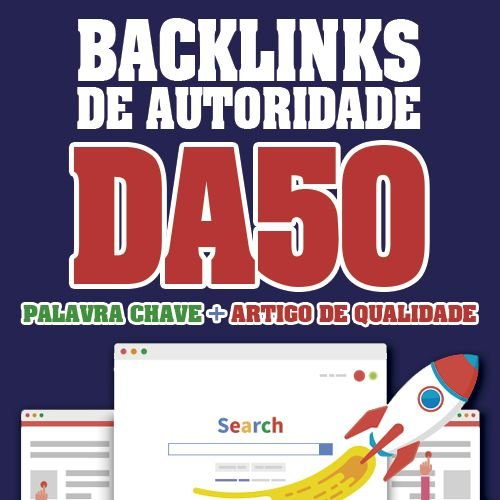 Comprar 10 Backlinks Dofollow Em Sites Com Da50