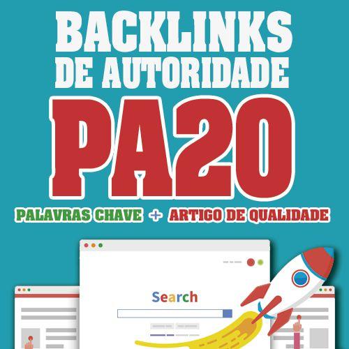 Comprar 20 Backlinks Dofollow Com Da20