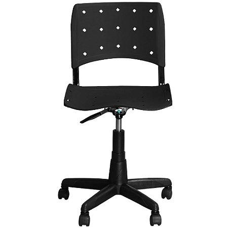 Cadeira de Escritório Iso Giratória Preta - Pethiflex