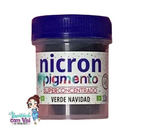 Pigmento Concentrado Nicron - Verde Navidad